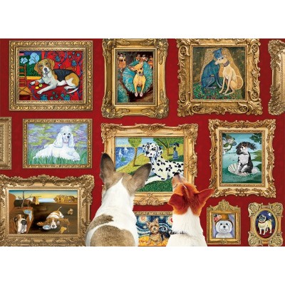 Puzzle  Cobble-Hill-80014 Dog Gallery