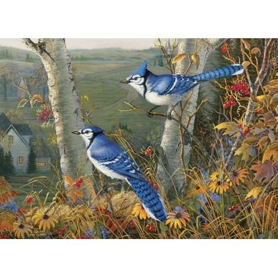 Puzzle  Cobble-Hill-80021 Blue Jays