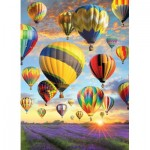 Puzzle  Cobble-Hill-80025 Hot Air Balloons