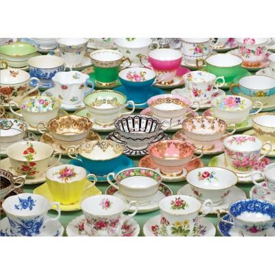 Puzzle Cobble-Hill-80034 Tea Cups