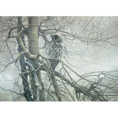 Puzzle  Cobble-Hill-80037 Robert Bateman: Der Geist des Nordens