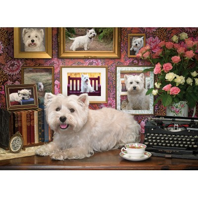Puzzle  Cobble-Hill-80039 Westies Are My Type
