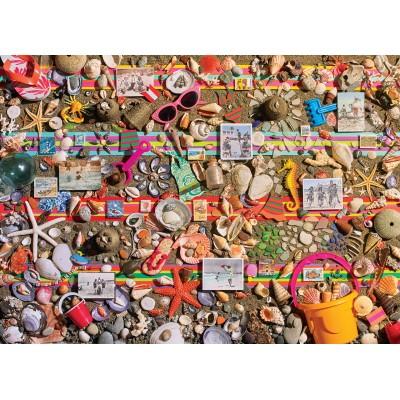 Puzzle Cobble-Hill-80048 Beach Scene