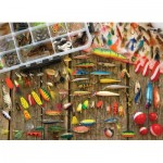 Puzzle  Cobble-Hill-80058 Fishing Lures