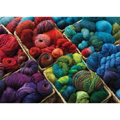 Puzzle Cobble-Hill-80060 Plenty of Yarn
