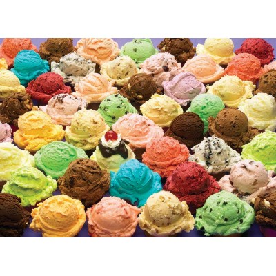 Puzzle Cobble-Hill-80061 Ice cream