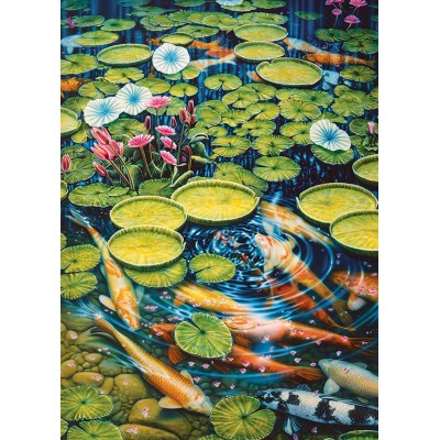Puzzle Cobble-Hill-80087 Koi Pond