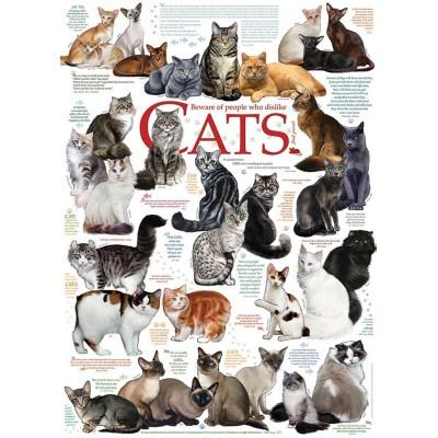 Puzzle  Cobble-Hill-80095 Cat Quotes