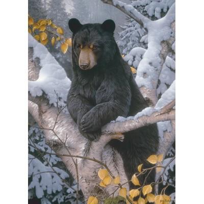 Puzzle  Cobble-Hill-80099 Black Bear