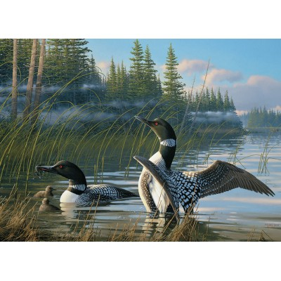 Puzzle Cobble-Hill-80107 Common Loons