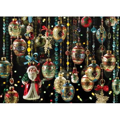 Puzzle Cobble-Hill-80140 Christmas Ornaments