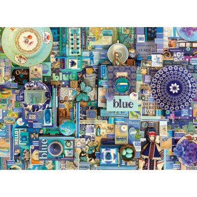 Puzzle Cobble-Hill-80150 Blue
