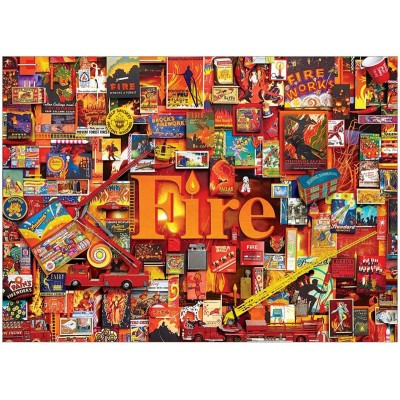Puzzle Cobble-Hill-80173 Fire