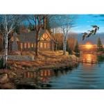 Puzzle  Cobble-Hill-80184 Rest Stop