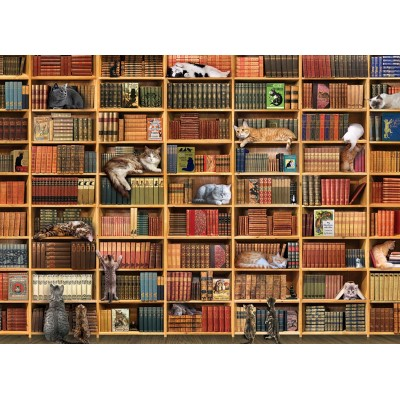 Puzzle Cobble-Hill-80216 The Cat Library