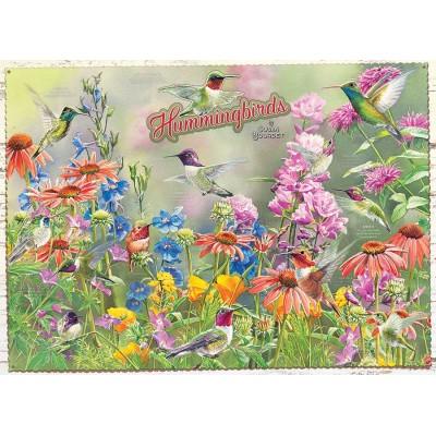 Puzzle  Cobble-Hill-80270 Hummingbirds