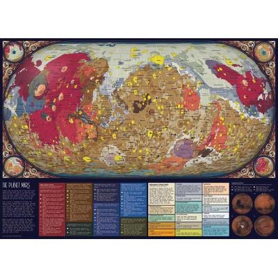 Puzzle  Cobble-Hill-80287 The Planet Mars