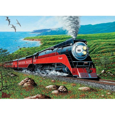 Puzzle  Cobble-Hill-80291 Southern Pacific
