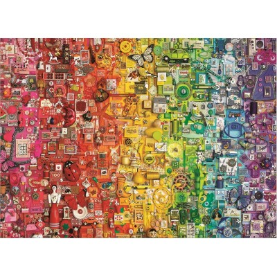 Puzzle Cobble-Hill-80295 Colorful Rainbow