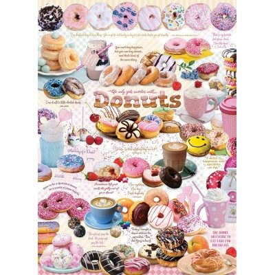 Puzzle Cobble-Hill-80321 Donut Time