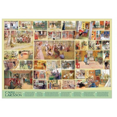 Puzzle  Cobble-Hill-80327 Carl Larsson