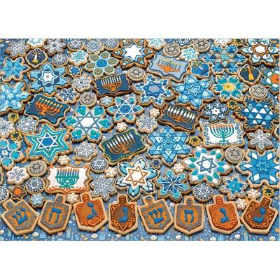 Puzzle Cobble-Hill-80329 Hanukkah Cookies