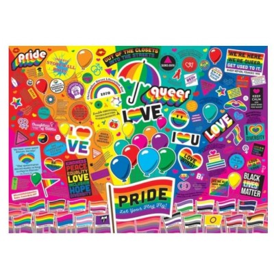 Puzzle  Cobble-Hill-80331 Pride