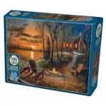 Puzzle  Cobble-Hill-85009 XXL Teile - Fireside