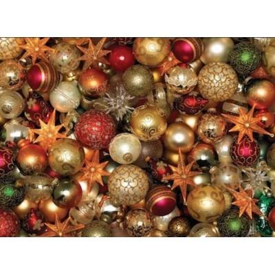 Puzzle Cobble-Hill-85012 XXL Teile - Christmas Balls