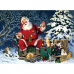 Puzzle  Cobble-Hill-85013 XXL Teile - Santa's Little Helper