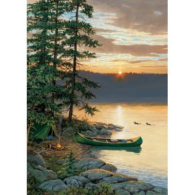 Puzzle  Cobble-Hill-85018 XXL Teile - Canoe Lake