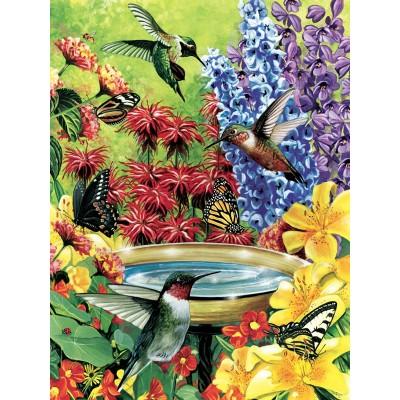 Puzzle  Cobble-Hill-85020 XXL Teile - Hummingbird Garden