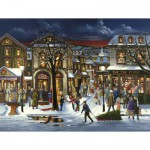 Puzzle  Cobble-Hill-85023 XXL Teile - Weihnachtseinkäufe