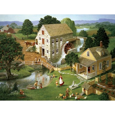 Puzzle  Cobble-Hill-85024 XXL Teile - Four Star Mill