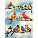 Puzzle  Cobble-Hill-85034 XXL Teile - Birds on a Wire