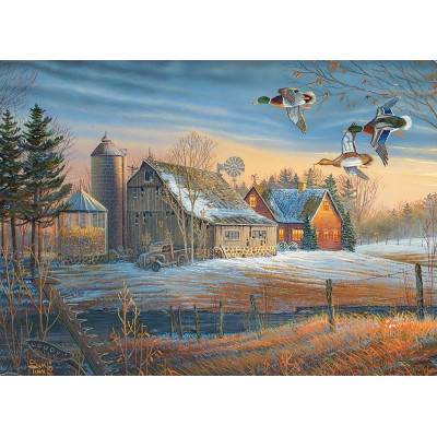 Puzzle Cobble-Hill-85048 XXL Teile - Farmstead Flyby