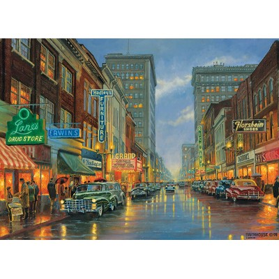 Puzzle  Cobble-Hill-85052 XXL Teile - A Grand Night in Steubenville