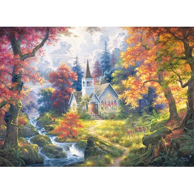 Puzzle  Cobble-Hill-85053 XXL Teile - Chapel of Hope