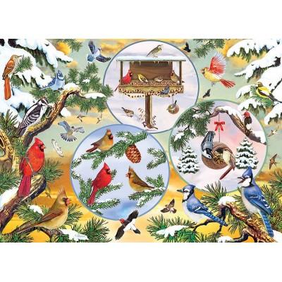 Puzzle Cobble-Hill-85057 XXL Teile - Winterbird Magic