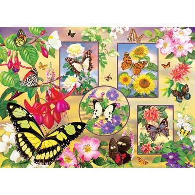 Puzzle  Cobble-Hill-85062 XXL Teile - Butterfly Magic