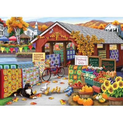 Puzzle  Cobble-Hill-85067 XXL Teile - Harvest Festival