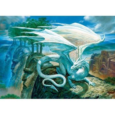 Puzzle Cobble-Hill-85071 XXL Teile - White Dragon