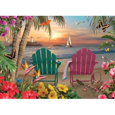 Puzzle Cobble-Hill-85077 XXL Teile - Island Paradise