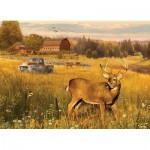 Puzzle  Cobble-Hill-85078 XXL Teile - Deer Field