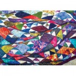 Puzzle  Cobble-Hill-85079 XXL Teile - Portrait of a Quilt