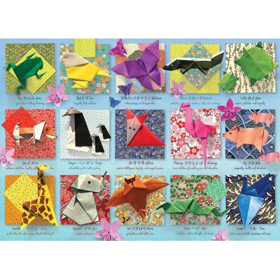Puzzle Cobble-Hill-85083 XXL Teile - Origami Animals