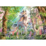 Puzzle  Cobble-Hill-85084 XXL Teile - Unicorn in the Woods
