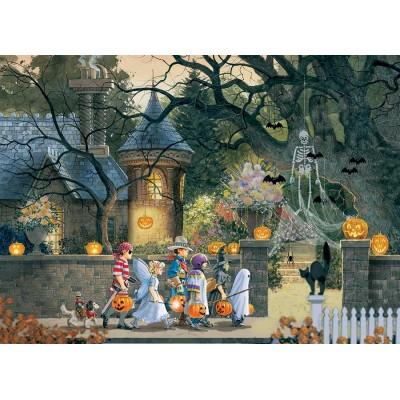 Puzzle Cobble-Hill-85085 XXL Teile - Halloween Buddies