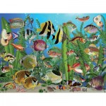 Puzzle  Cobble-Hill-88003 XXL Teile - Aquarium