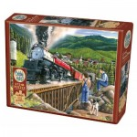 Puzzle  Cobble-Hill-88009 XXL Teile - Steaming Out of Town